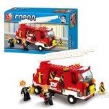 Конструктор Sluban M38 B3000 пожарная машина, 175 дет