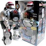 Робот на радиоуправлении 28083. Стреляет дисками, свет звук