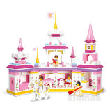 Конструктор cлубан 620061/M 38 B 0251, замок принцессы,