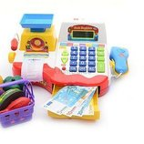 Кассовый аппарат 7162 Joy Toy, калькулятор, чековая лента