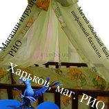 Комплект детского постельного белья Украина, 8 предметов с карманом