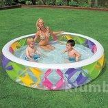 Надувной бассейн Intex 56494 надувное дно