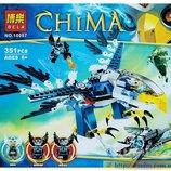 Конструктор Bela - Chima Летающая машина клана Орлов 10057, деталей 351шт