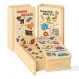 Деревянная игрушка Домино большое MD 0667