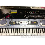 Детское пианино - синтезатор MQ 020 fm радио
