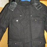 Шерстяное пальто 122-134