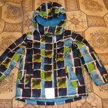 Яркая куртка Тополино 98-122