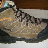 Теплые осенне-зимние кожаные ботинки р. 37-39 , 24,5 - 25 cm