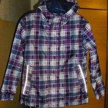 Роскошная куртка и плащ на девочку 122-128 см