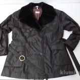 Тёплая куртка с меховым воротником. Германия. Размер 44 / 16 / XXL