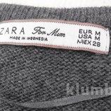 Zara Тонкое полушерстяное платье - туника для беременных.