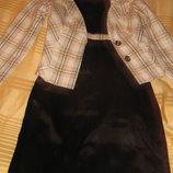 женский деловой нарядный костюм