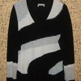 Красивый теплый свитер кофта р.50-52