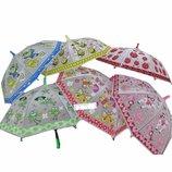 Зонтик детский,в пакете 50см С12687