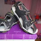 Босоножки, сандалии для мальчика, темно-серые, новые, 30,31,32,33 размер