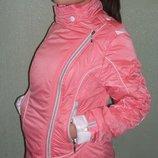 Курточка весна-осень Берта розовая
