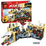 Акція Бела Ниндзя 10530 конструктор Bela Ninjago ниндзяго Хаос в Х-Пещере