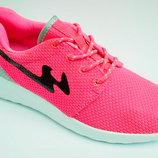 Качественные кроссовки сетка Nike Roshe run копия