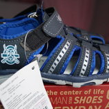 Босоножки, сандалии для мальчика, темно-синие, новые, 28,29,31,33,34,35 р.