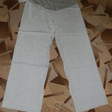 Продам льняные брюки для будущей мамы