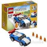 Конструктор Синий гоночный автомобиль от Lego Creator