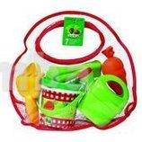Набор для игры с песком Пикник в прозрачной сумочке 6 аксесуаров от Ecoiffier Франция