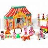 Распродажа - Набор деревянных игрушек Цирк Стори бокс от Janod