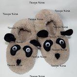 Тапочки-Балетки Панда