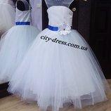 нарядное детское платье арт.5096