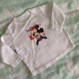 реглан с Микки Маусом, Disney, оригинал на 8-12 мес