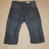 Стильные современные джинсовые шорты из темного денима H&M. Швеция.146