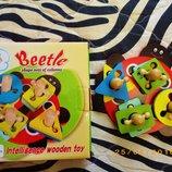 Развивающая игрушка пирамидка головоломка Kaite Toys от 3х лет