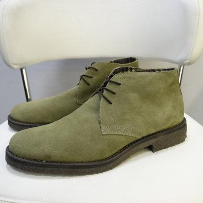 Замшевые ботинки 44 Америка