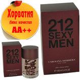 Carolina Herrera 212 Sexy MenЛюкс качество Аа Хорватия Качественные копии