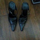 Туфли сабо кожа. Обмен