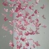 Бабочки для подвесной гирлянды