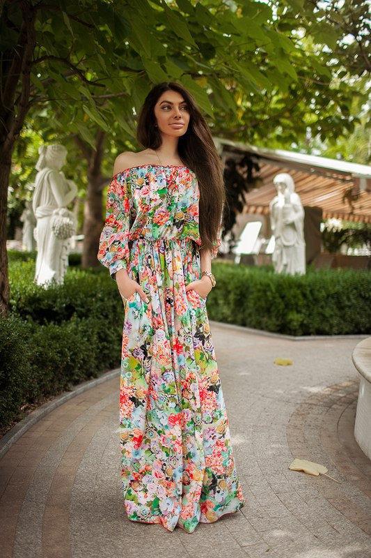 Женская платья в пол