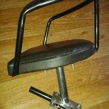 Велокресло на женскую / дамскую и мужскую раму, детское велосипедное сиденье.