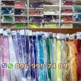 Цветные пряди декоративные для волос на заколках, опт и розница, прядь оптом канекалон