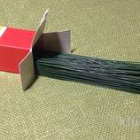 Проволока для цветоделия крашеная,0.7 мм-10 шт. Китай,30 см