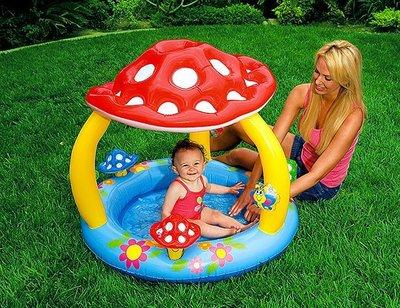 Надувной бассейн Интекс Intex 57407 грибок