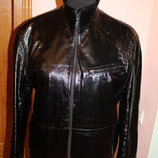 Куртка з лакової шкіри Syrvado