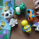 киндер игрушки для девочки-колечка