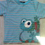 Летняя футболка George на мальчика, р. 98-104 см
