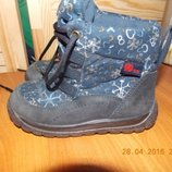 Фирменные Ботинки Elefanten р-р24 15.5см Германия