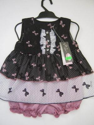 Распродажа, Baby Angel шифоновый нарядный комплект для девочки 80 см
