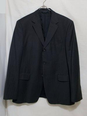 Пиджак темно-серый тонкая шерсть Banana Republic GAP 52-54р