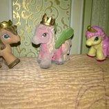 Коллекционная игрушка фигурка Флокированые фигурки,пони,лошадка,кукла флок флокировка
