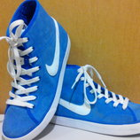 Кроссовки-Кеды, замшевые, Nike Original 100% -сток