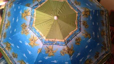 Пляжный зонт, с наклоном и напылением, диаметр 2м, 2,2м. Опт и розница